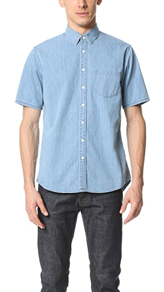 Steven Alan Short Sleeve Masters Shirt