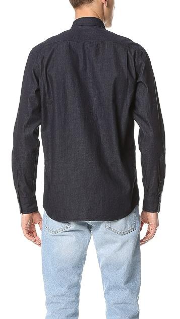 Steven Alan Triple Double Denim Shirt