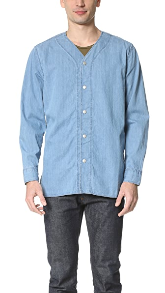 Steven Alan Baseball Work Shirt
