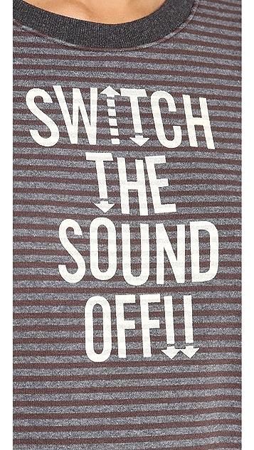 Stripe by N Sound off Sweatshirt