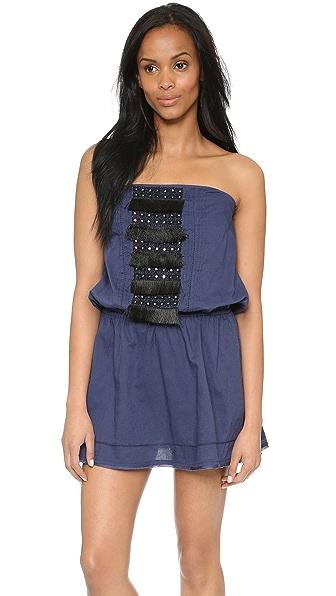 Kupi St. Roche online i prodaja St. Roche Britt Dress Indigo W- Black Embroidery haljinu online