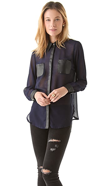 STYLESTALKER Night Lights Shirt
