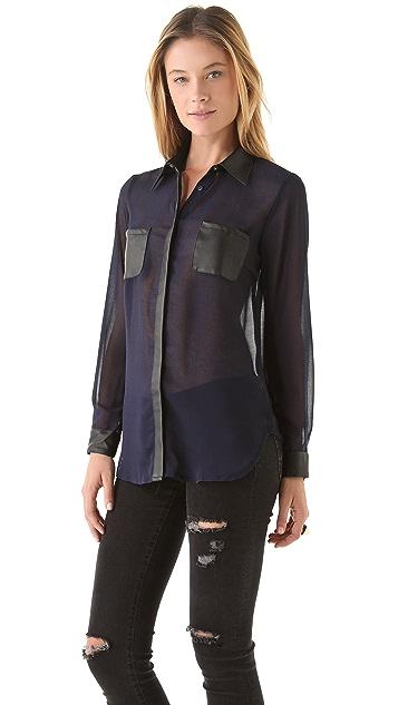 STYLESTALKER Night Lights Shirt