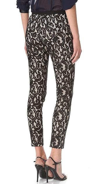STYLESTALKER Panther Lace Pants