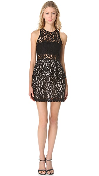 STYLESTALKER Panther Lace Dress