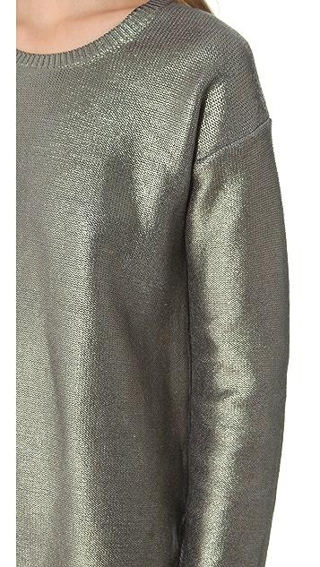 STYLESTALKER Psychedelic Foil Sweater