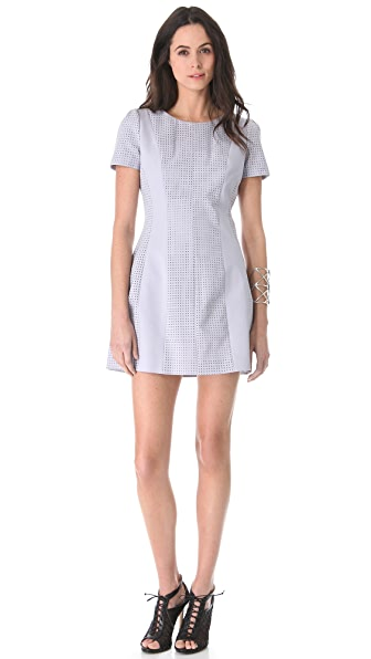 STYLESTALKER Perforated Dress