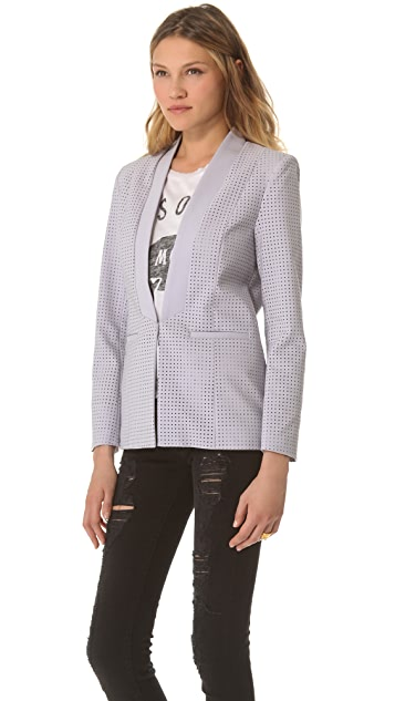 STYLESTALKER Perforated Blazer