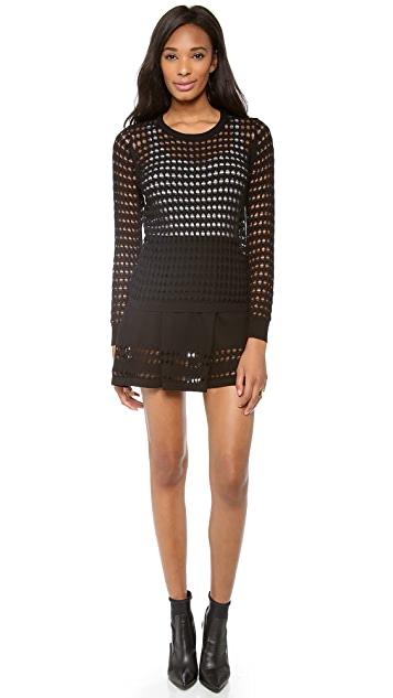 STYLESTALKER Holed Out Sweater