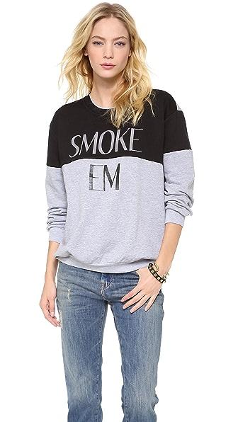 STYLESTALKER Smoke Em Sweater