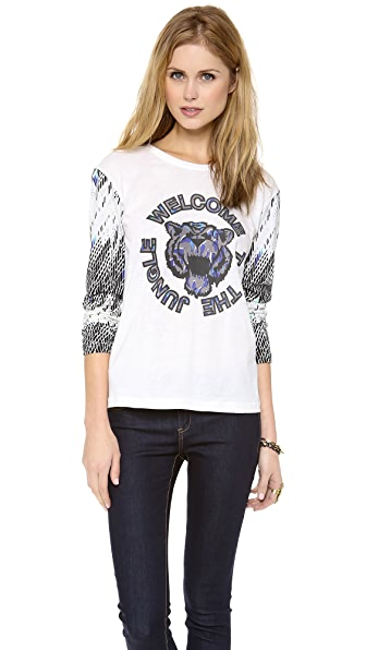 STYLESTALKER Welcome to the Jungle Tee