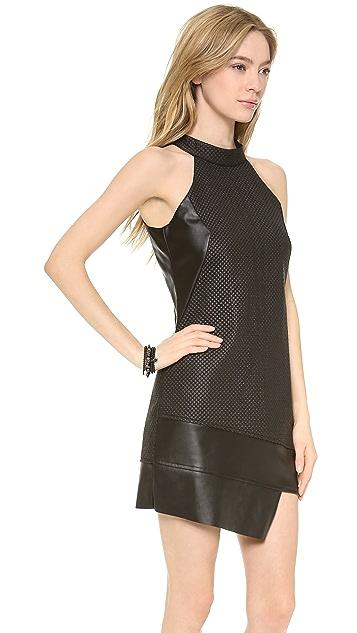 STYLESTALKER Quilted Shift Dress