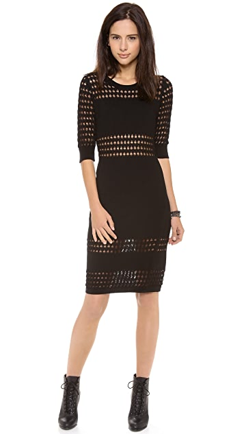 STYLESTALKER Holed Out Dress