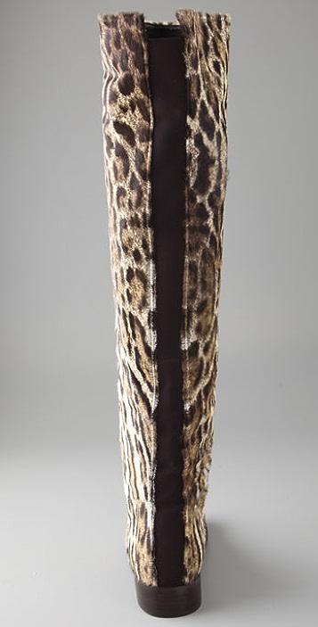 Stuart Weitzman Backup Haircalf Flat Boots