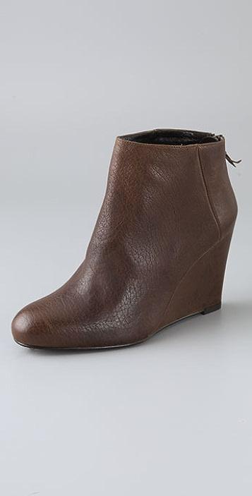 Stuart Weitzman Shoezy Wedge Booties