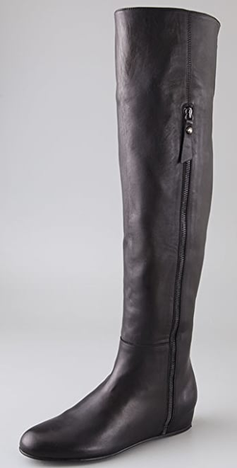 Stuart Weitzman Elf Over the Knee Wedge Boots