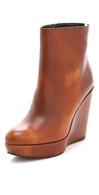 Stuart Weitzman Invent Wedge Booties