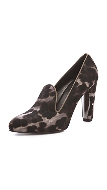 Stuart Weitzman Uprise Haircalf Lip Pumps