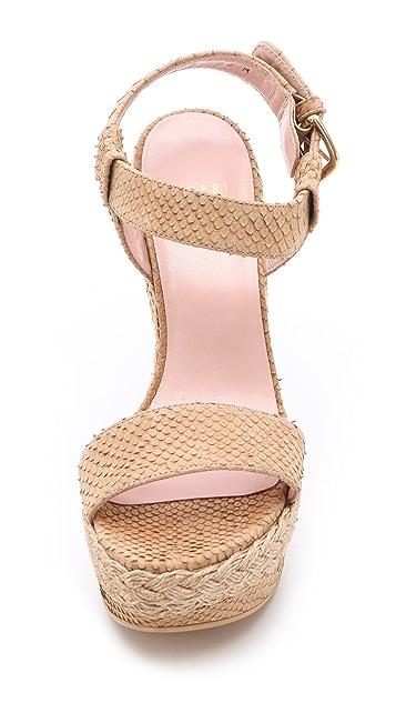 Stuart Weitzman Loner Jumprope Sandals