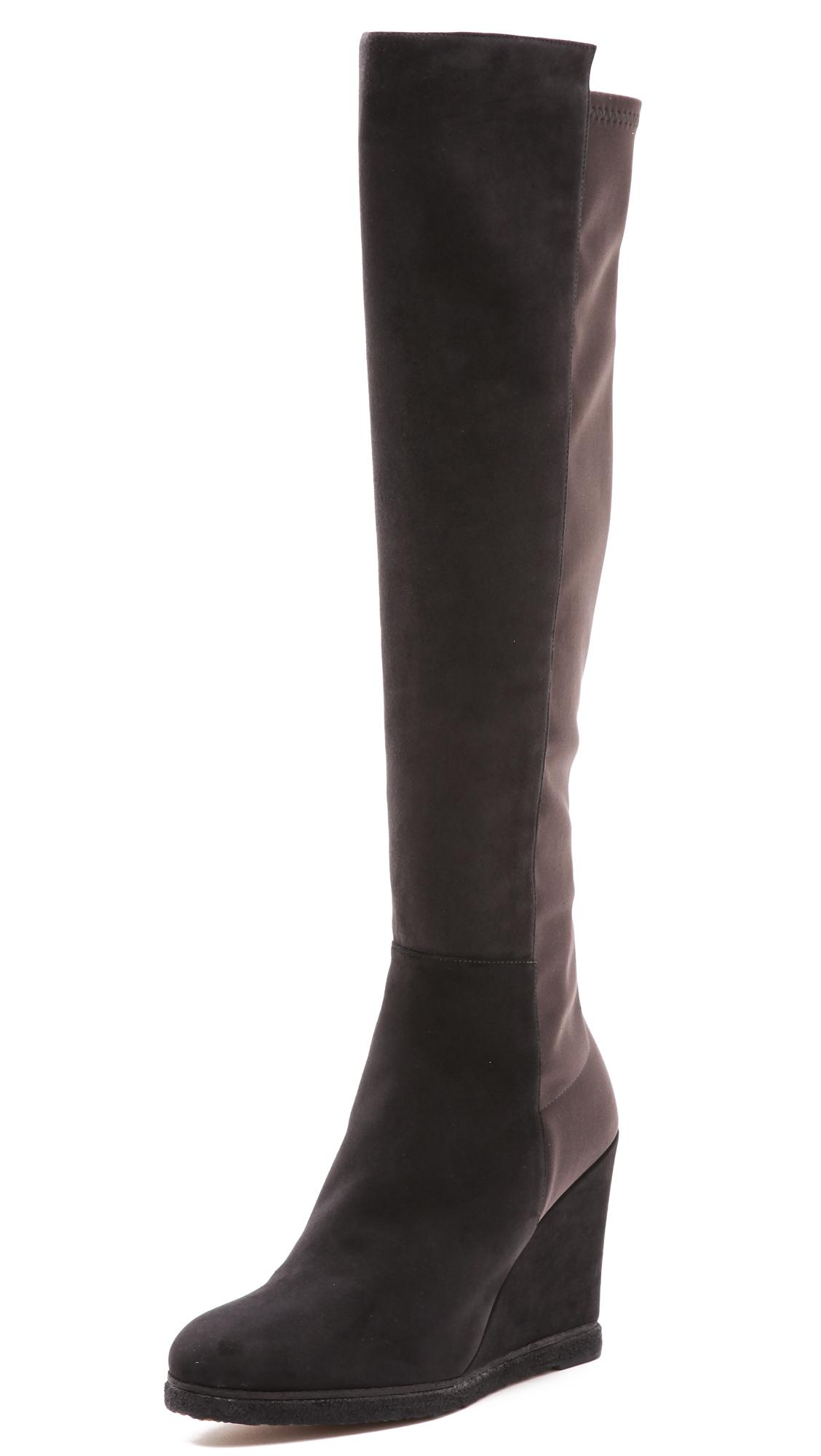 68a8d3d5725 Stuart Weitzman Demiswoon Suede Wedge Boots