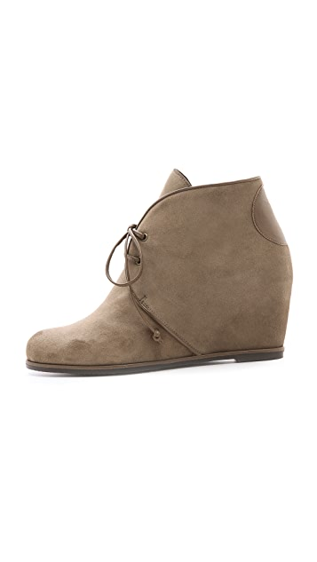 Stuart Weitzman Kalahari Hidden Wedge Booties