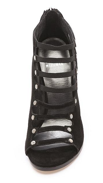 Stuart Weitzman Marie Multi Strap Sandals