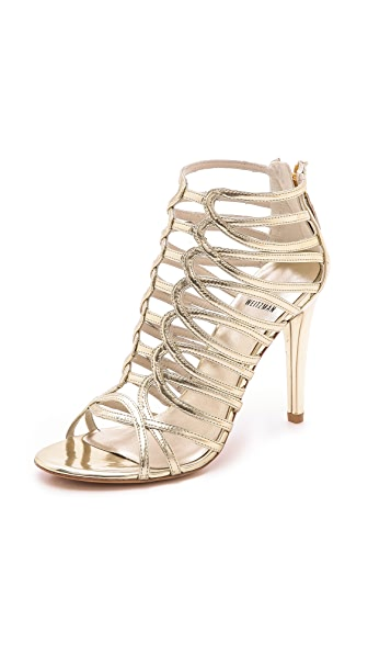 Stuart Weitzman Loops Metallic Sandals