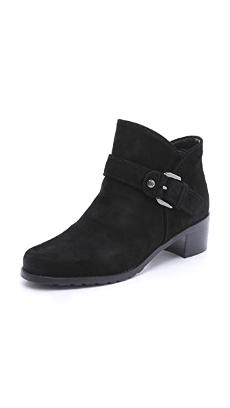 Stuart Weitzman Dude Buckle Booties