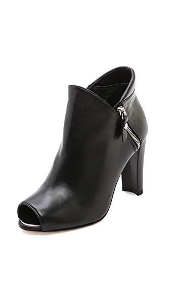 Stuart Weitzman Jump Open Toe Ankle Booties