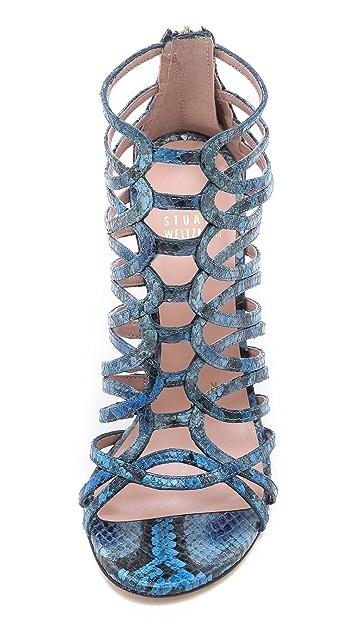 Stuart Weitzman Loops Strappy Sandals