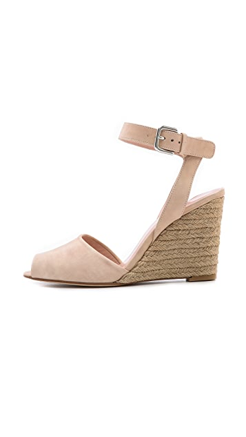 Stuart Weitzman Way Cool Wedge Sandals