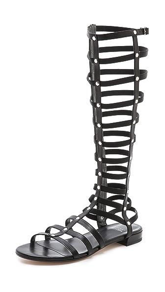 Stuart Weitzman Gladiator Flat Sandals