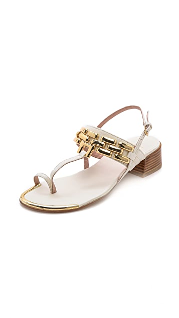 Stuart Weitzman Hardware City Sandals