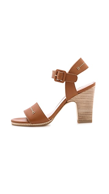 Stuart Weitzman Bandy Block Heel Sandals