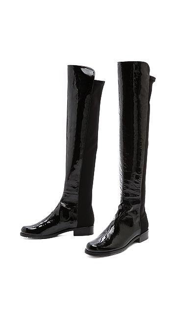 Stuart Weitzman 5050 Patent Boots