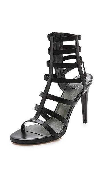Stuart Weitzman Cleo Multiband Sandals