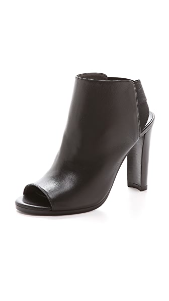 Stuart Weitzman Here It Is Open Toe Booties