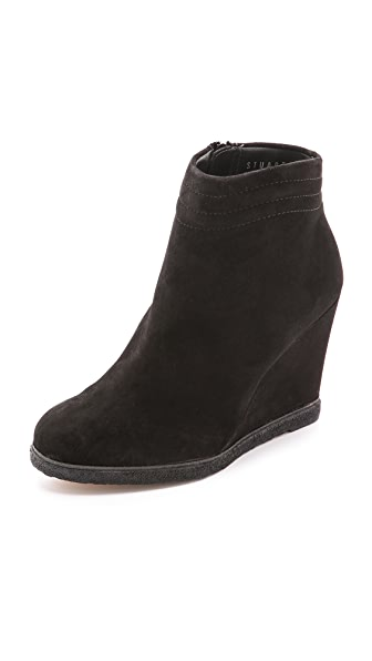 Stuart Weitzman Meridian Wedge Booties