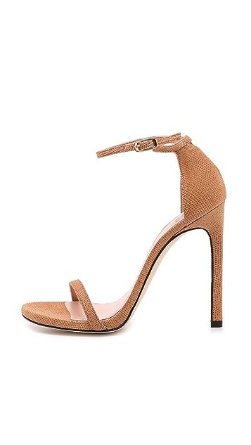 Stuart Weitzman Nudist 110mm Sandals