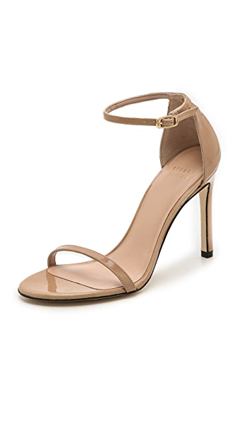 Stuart Weitzman Nudistsong 90mm Sandals - Adobe