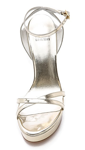 Stuart Weitzman Bebare Platform Sandals