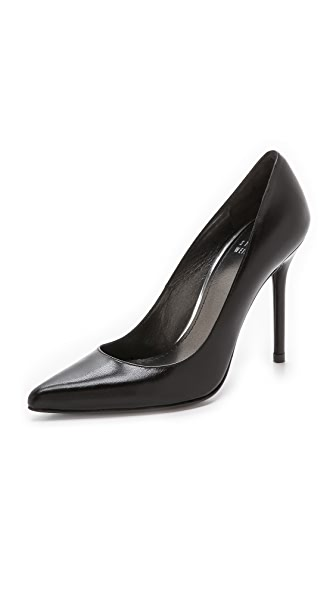 Stuart Weitzman Nouveau Pointed Toe Pumps - Black