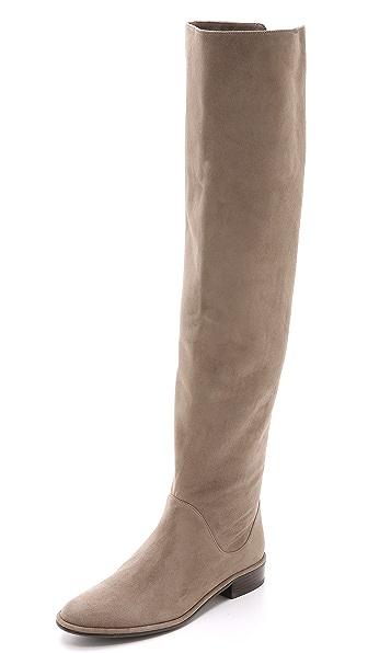 Kupi Stuart Weitzman online i prodaja Stuart Weitzman Rocker Chic Suede Boots Praline haljinu online