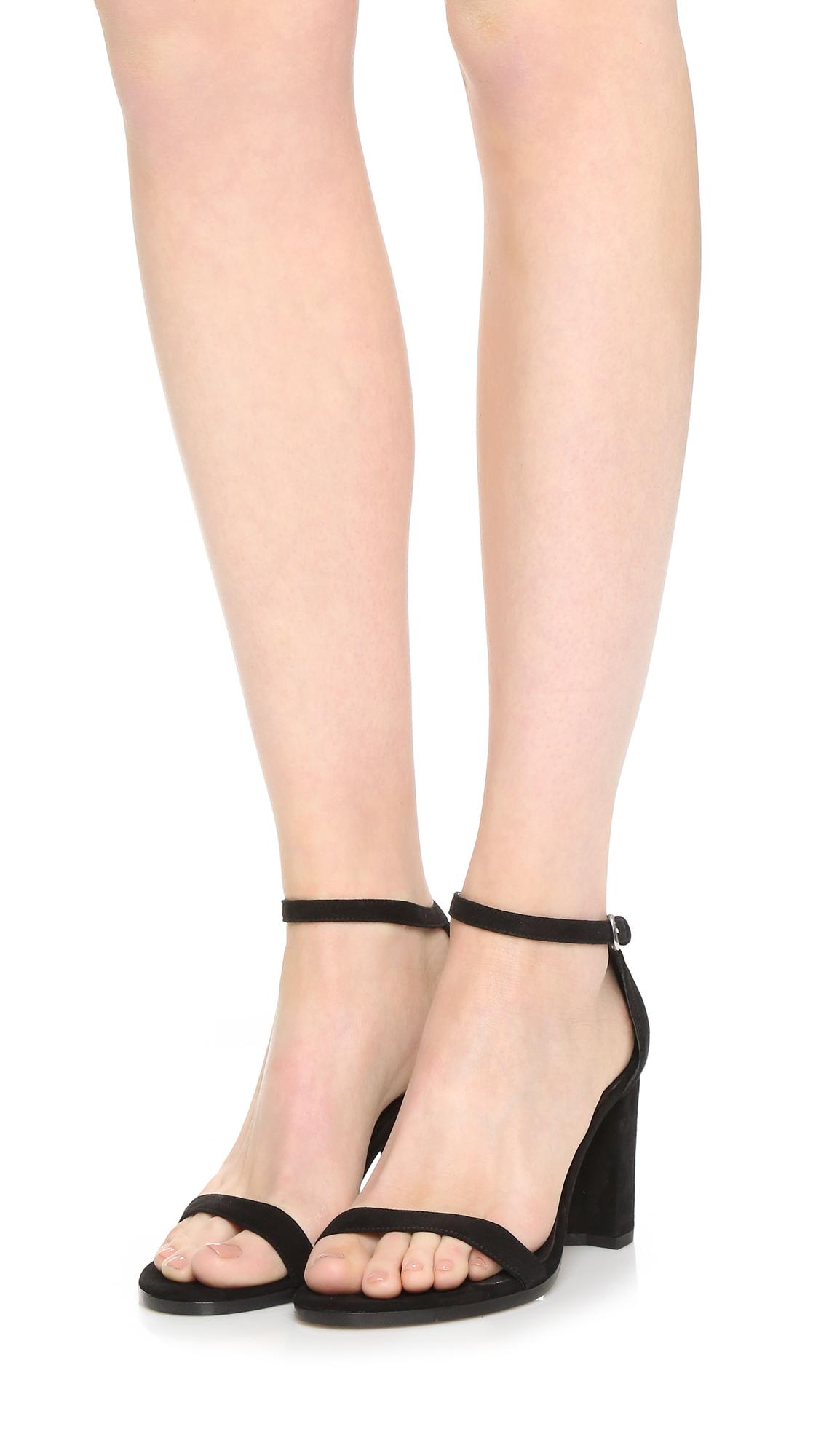 a9edcf86dc3 Stuart Weitzman Nearlynude Sandals