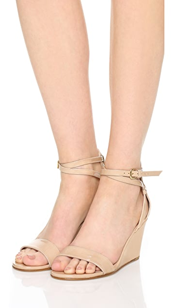 Stuart Weitzman Backdraft Wedge Sandals