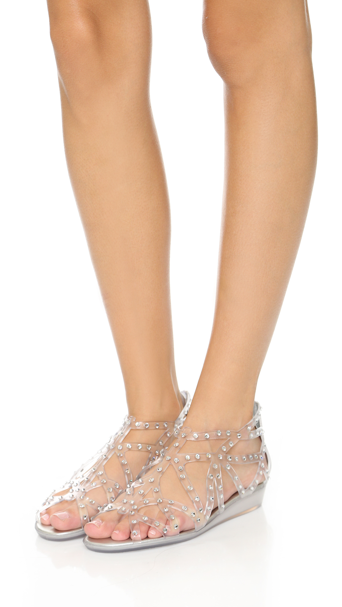 Stuart Weitzman Jelly Slide Sandals cheap sale low price sale visit new new styles online 4GeCaCw5WY