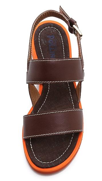 Studio Pollini Contrast Sole Sandals