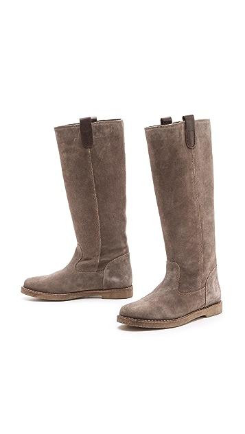 Studio Pollini Pull on Flat Boots