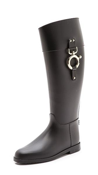 Studio Pollini Riding Rain Boots