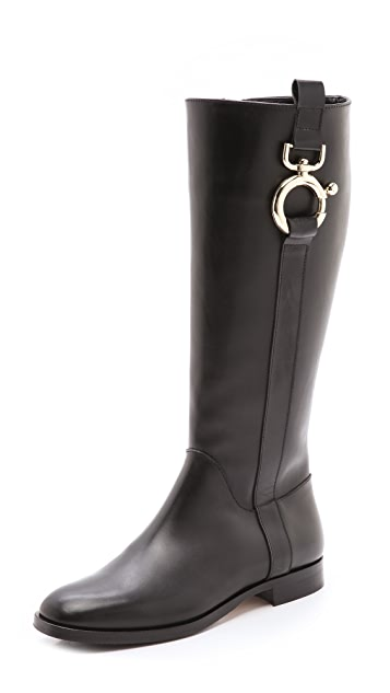 Studio Pollini Hardware Riding Boots